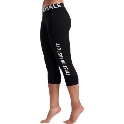 モンスロイヤル カジュアルパンツ レディース ボトムス Christy 3/4 Legging - Women's Black