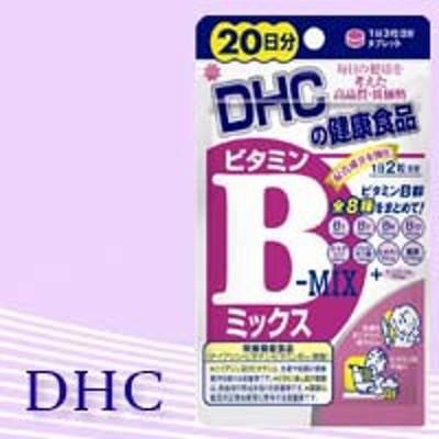DHC ビタミンBミックス 20日分 40粒 dhc サプリ dhc ビタミンbミックス 美容 サプリ 肌荒れ 栄養補助食品 【代金引換不可/着日指定不可】