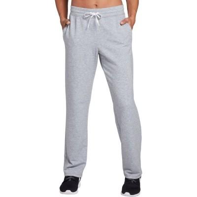 DSG カジュアルパンツ ボトムス レディース DSG Women's Open Hem Fleece Pants (Regular and Plus) MediumHeatherGray