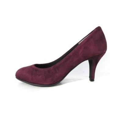 【中古】ダイアナ DIANA ルフリー パンプス ヒール スエード 紫 パープル 21.5 靴 レディース 【ベクトル 古着】