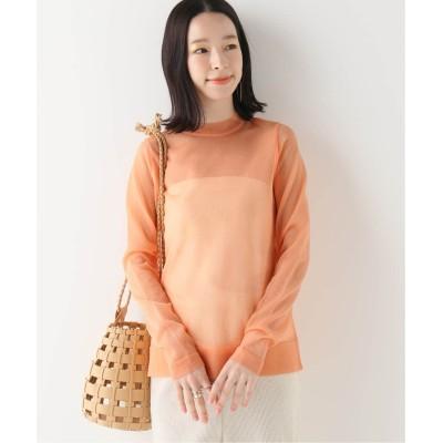 レディース イエナ 【TAN】SPARKLED LONG Tシャツ ピンク フリー