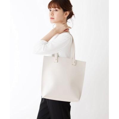 SHOO・LA・RUE / 縦長シンプルトートバッグ WOMEN バッグ > トートバッグ