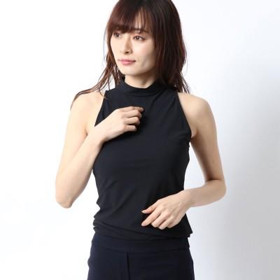 リネーム Rename ハイネックノースリーブボディーシャツ (ブラック)