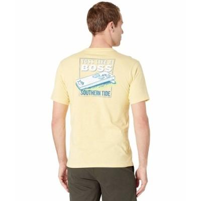サウザーンタイド シャツ トップス メンズ Toss Like A Boss T-Shirt Heather Sunshine