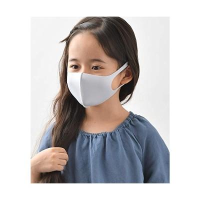 パステルマスク 洗って使える3Dデザインマスク3枚入りキッズサイズ こども用 男女兼用 チャコールグレーセット 冷感(ボーケン品質評価機構接