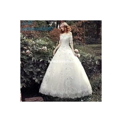 ブライダル ウェディングドレス ホワイト パーティー 結婚式