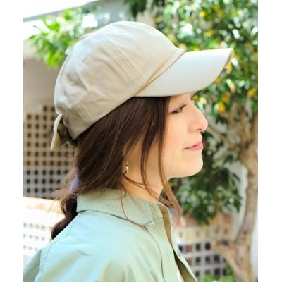 14+(ICHIYON PLUS) / バックリボンキャップ WOMEN 帽子 > キャップ