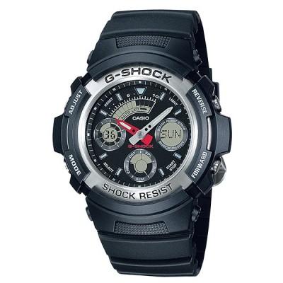 G-SHOCK Gショック ジーショック AW-590 カシオ CASIO アナデジ 腕時計 ブラック AW-590-1A 逆輸入海外モデル