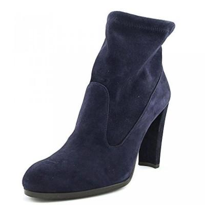 スチュアート ワイツマン レディース ブーツ Stuart Weitzman Mitten Women Pointed Toe Suede Blue Ankle Boot