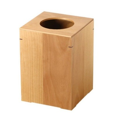 カントリーな雰囲気の木製ダストボックス(大) 日本製