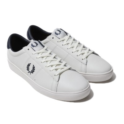 フレッドペリー FRED PERRY FRED PERRY SPENCER LEATHER (OFFWHITE)
