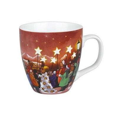 ドイツ・KONITZ(コーニッツ)  Star Procession 聖者の行進 (蓄光)<マグカップ>