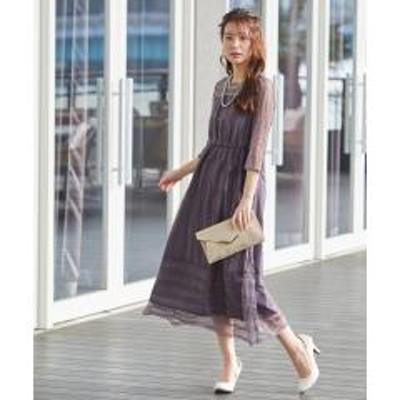 フォルムフォルマ【WEB限定】オールレースロングドレス