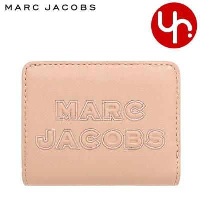 マークジェイコブス Marc Jacobs 財布 二つ折り財布 M0015752 バレエ フラッシュ レザー ロゴ ミニ コンパクト ウォレット アウトレット レディース