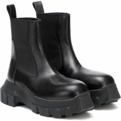 リック オウエンス Rick Owens レディース ブーツ ショートブーツ シューズ・靴 Mega Bozo Tractor ankle boots
