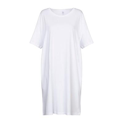 ALTERNATIVE® ミニワンピース&ドレス ホワイト XS コットン 60% / レーヨン 40% ミニワンピース&ドレス