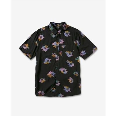 ボルコム シャツ トップス メンズ Men's Pleasure Cruise Short Sleeve Shirt Black