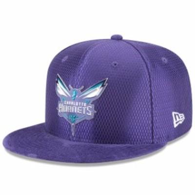 New Era ニュー エラ スポーツ用品  New Era Charlotte Hornets Purple NBA On-Court Original Fit 9FIFTY Adjustable Hat