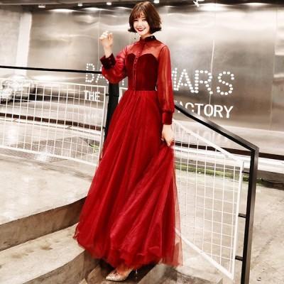イブニングドレス ショート丈 カラードレス Aライン パーティードレス 結婚式 ウェディングドレス 二次会ドレス 大きいサイズ 演奏会 お花嫁ドレス 姫系