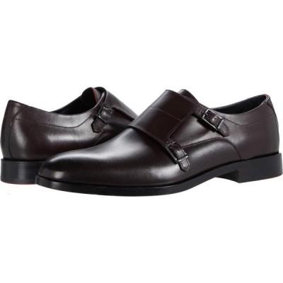 ヒューゴ ボス BOSS Hugo Boss メンズ 革靴・ビジネスシューズ モンクストラップ シューズ・靴 Midtown Monk Strap Oxfords Dark Red