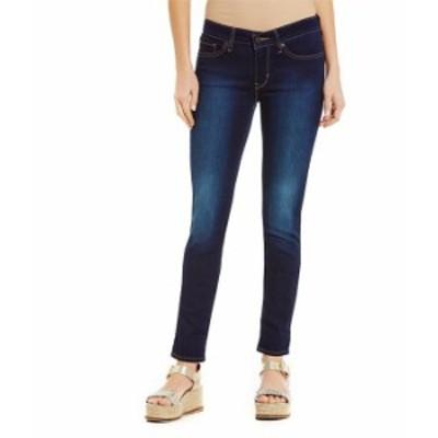 リーバイス レディース デニムパンツ ボトムス Levi'sR 711 Woven Stretch Skinny Jeans Indigo Ridge