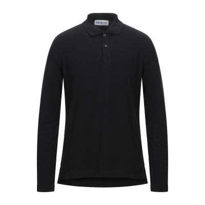 ビッケンバーグ BIKKEMBERGS ポロシャツ ブラック XS コットン 100% ポロシャツ
