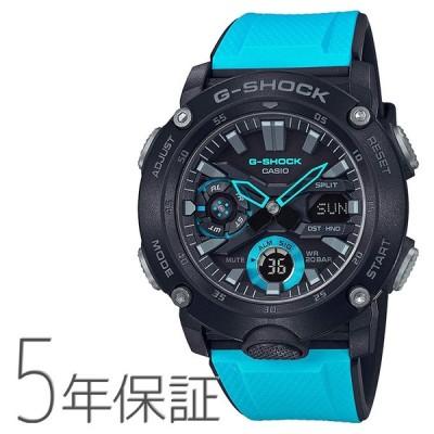 G-SHOCK g-shock Gショック GA-2000-1A2JF カシオ CASIO カーボンコアガードバンド ブルー 青 メンズ 腕時計