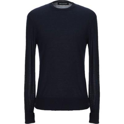 ニール バレット NEIL BARRETT メンズ ニット・セーター トップス sweater Dark blue