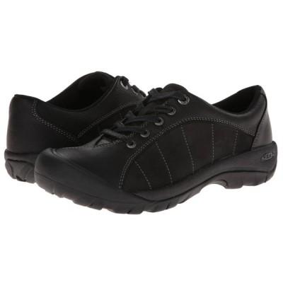 キーン KEEN レディース スニーカー シューズ・靴 Presidio Black/Magnet