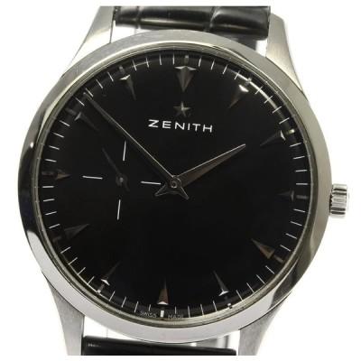 保付き【ZENITH】ゼニス エリート スモールセコンド 03.2010.681 自動巻き メンズ