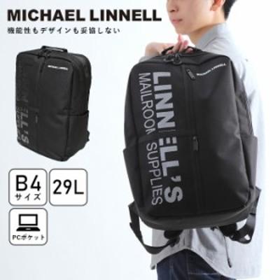 マイケルリンネル MICHAELLINNELL リュック 人気 ブランド 耐久性 Square Backpack メンズ・レディース ポリエステル 丈夫 旅行 大きめ