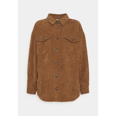 レディース ファッション SAVISA - Button-down blouse - camel