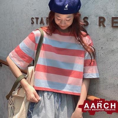大きいサイズ Tシャツ トップス レディース ファッション ぽっちゃり おおきいサイズ 対応 オーバーサイズ ボーダー柄 ビッグシルエット M L LL 3L 春夏