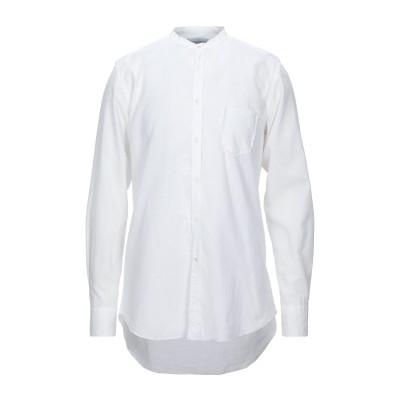 アリーニ AGLINI シャツ ホワイト 38 リネン 52% / コットン 48% シャツ