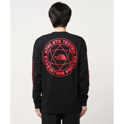 tシャツ Tシャツ THENORTHFACE/ノースフェイス プリント長袖Tシャツ NT82034 L/S Expedition System Tee