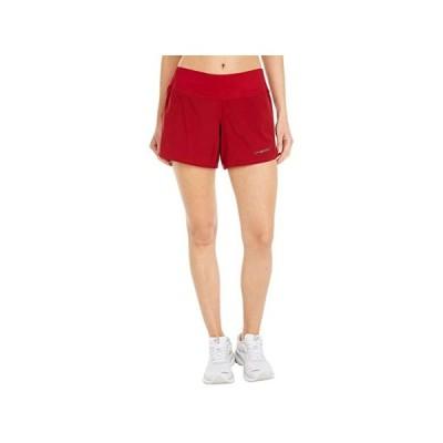 """ブルックス Chaser 5"""""""" Shorts レディース ショートパンツ ズボン 半ズボン Beet"""