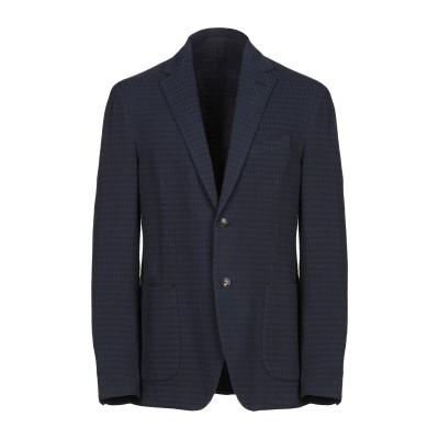 ラルディーニ LARDINI テーラードジャケット ダークブルー 52 コットン 98% / ポリウレタン 2% テーラードジャケット