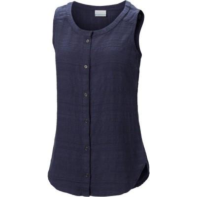 コロンビア シャツ トップス レディース Columbia Women's Summer Ease Sleeveless Shirt Nocturnal