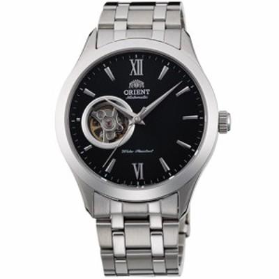 オリエント RN-AG0001B スタンダード セミスケルトン 機械式時計 (メンズ)