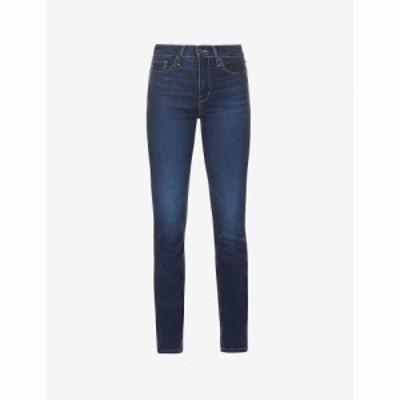 リーバイス LEVIS レディース ジーンズ・デニム ハイライズ ボトムス・パンツ 724 Slim-Leg High-Rise Jeans Bogota Calm