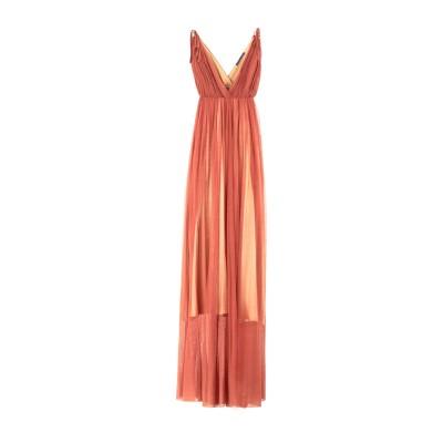 ZEYNEP ARCAY ロングワンピース&ドレス ブラウン 4 シルク 100% ロングワンピース&ドレス