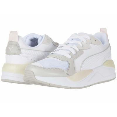 プーマ スニーカー シューズ レディース X-Ray Game Puma White/Gray/Violet/Rosewater/Whisper White
