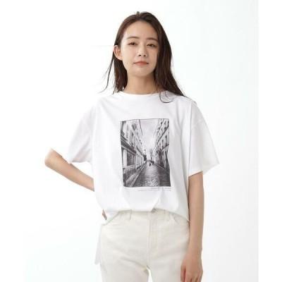UNTITLED / アンタイトル フォトプリントTシャツ