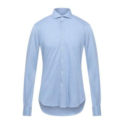 ORIAN シャツ スカイブルー 37 コットン 100% シャツ