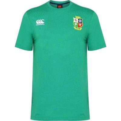 カンタベリー Canterbury メンズ Tシャツ トップス British And Irish Lions Jersey T Shirt Green