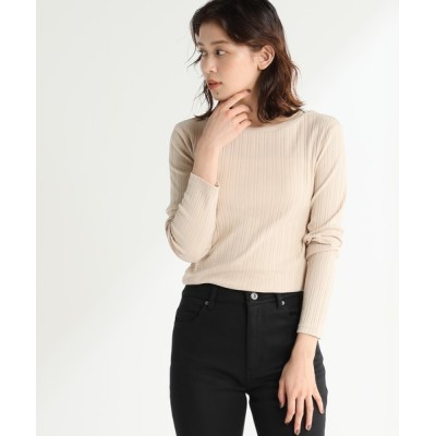 Honeys / ボートネックTシャツ WOMEN トップス > Tシャツ/カットソー