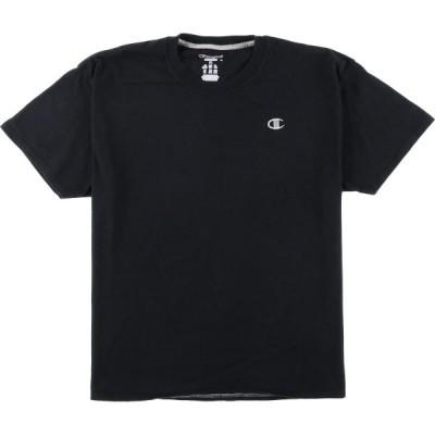 チャンピオン Champion ワンポイントロゴTシャツ XL /eaa050754
