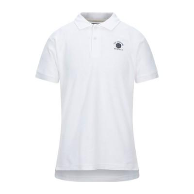 RICHFIELD ポロシャツ ホワイト M コットン 100% ポロシャツ