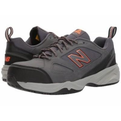 New Balance ニューバランス メンズ 男性用 シューズ 靴 スニーカー 運動靴 627v2 Grey/Orange【送料無料】