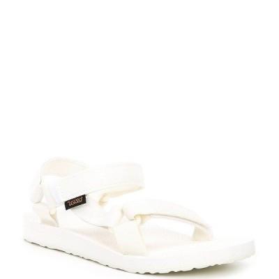 テバ レディース サンダル シューズ Women's Original Universal Waterproof Sandals Bright White